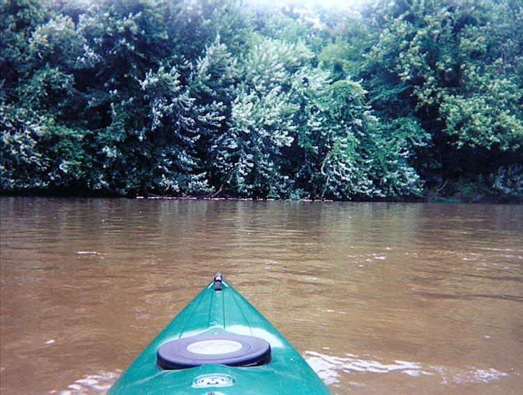 Blue Juniata River.