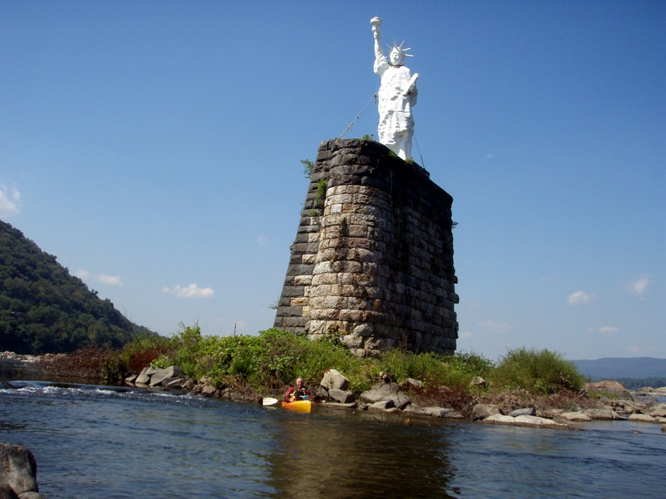 Susquehanna River Miss Liberty.