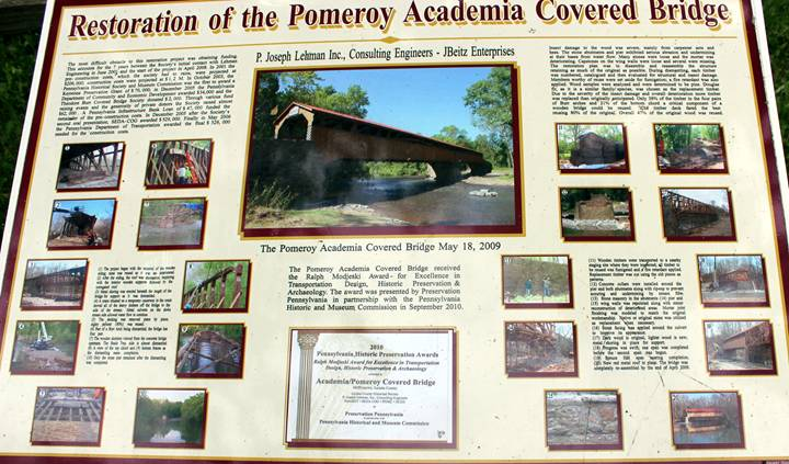Academia Pomeroy Covered Bridge