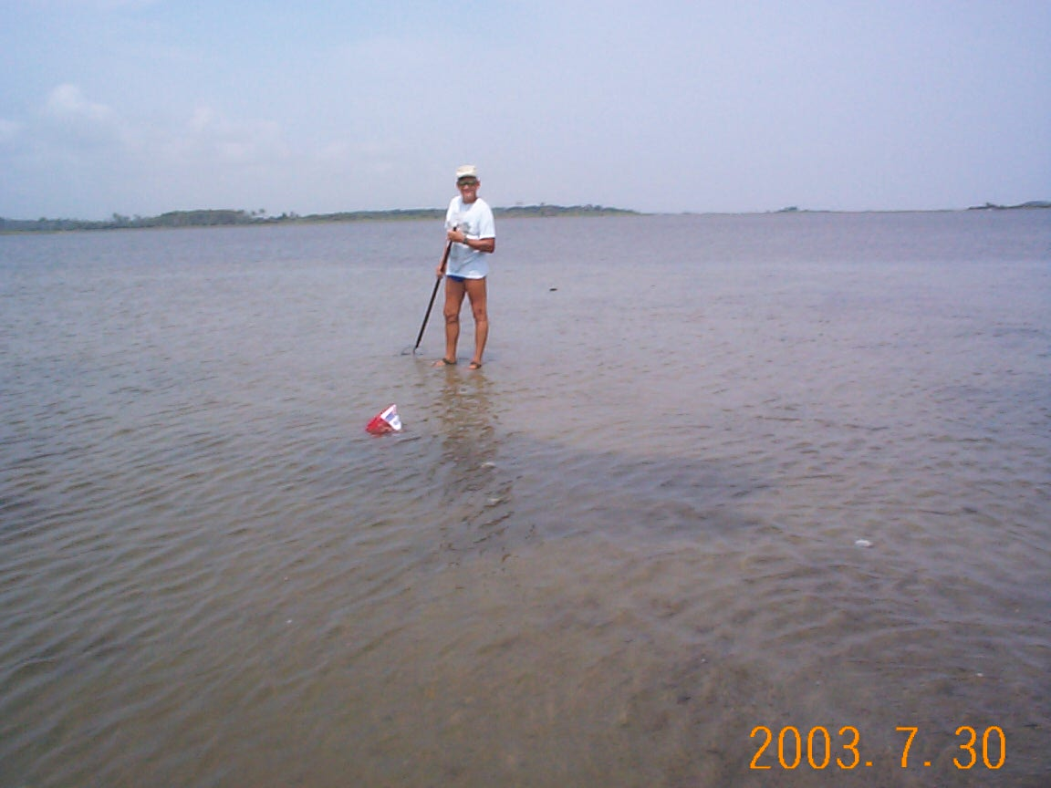 Bogue Sound Clamming.