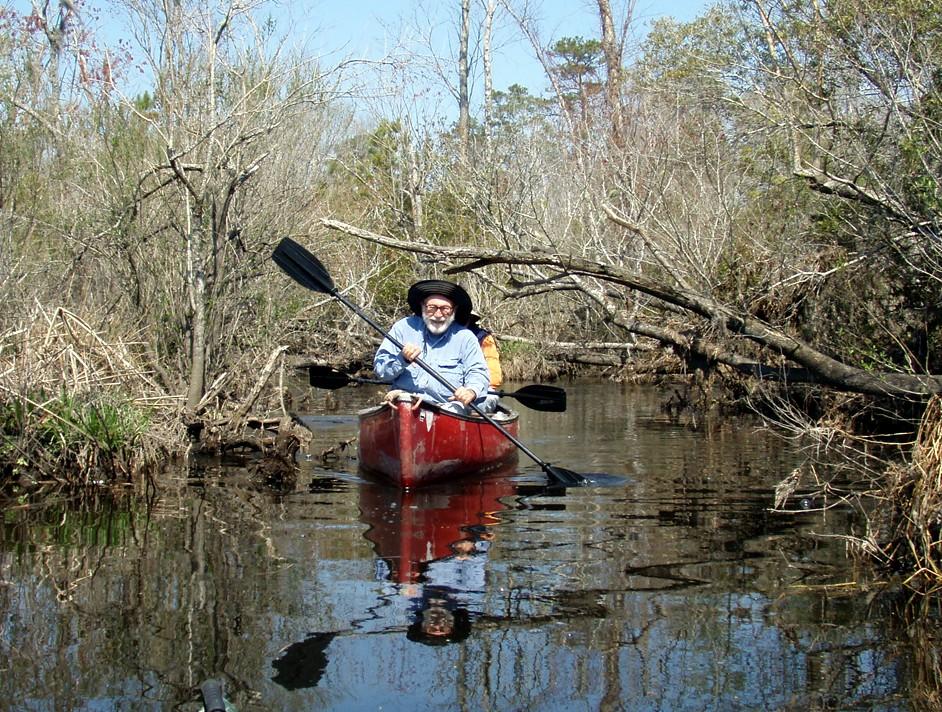 Southwest Creek kayak trip.