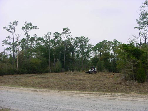 Our lot in Vista Cay.